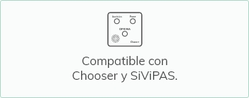 Compatible con Chooser y SiViPAS